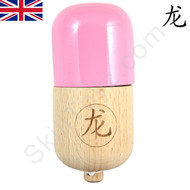 Dragon Kendama Wooden Pill Toy Pink