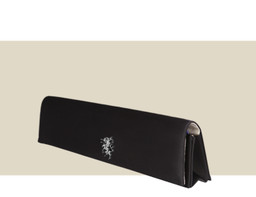 NARROW FOLDING CLUTCH - Black