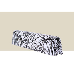 NARROW FOLDING CLUTCH - Zebra