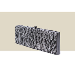 SMALL BOX CLUTCH - Pleated