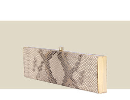 SMALL BOX CLUTCH - Gold