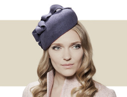 Gina Foster Wimborne grey winter hat for women