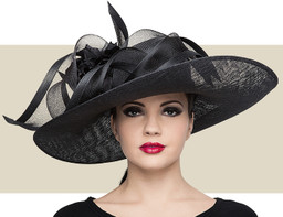 SWEEPING SIDEBRIM - Black