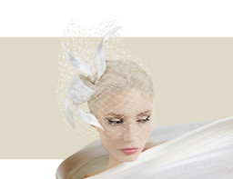 BUNTAL KNOT SWAROVSKI HEADPIECE - Ivory