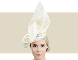 PEARL WAVE HEADPIECE - Ivory
