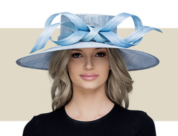 NEW PROPORTION HAT - Dusky Blue