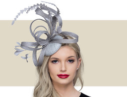 FEATHER HEADPIECE - Silver