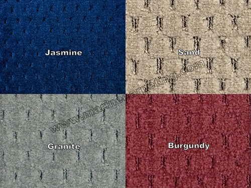 32 oz. Pontoon Boat Carpet Samples
