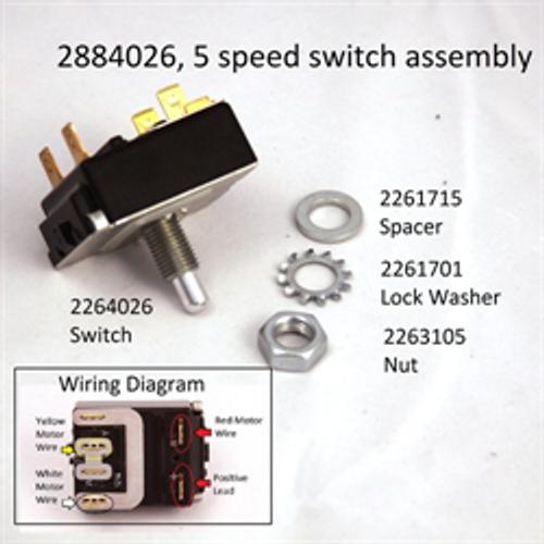 minn kota 5 speed switch 2064028