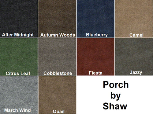 PORCH by Shaw - Indoor/Outdoor Berber Carpet - 12' wide x Various Lengths'