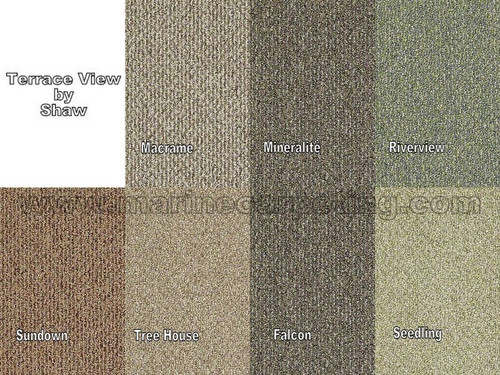 TERRACE VIEW by Shaw - Indoor/Outdoor Berber Carpet - 12' Wide x Various Lengths
