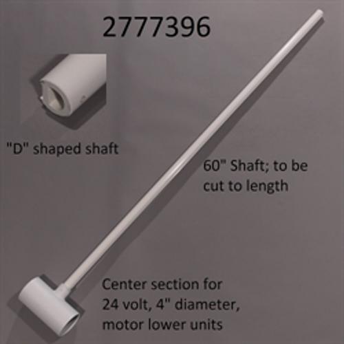 Minn kota 55lb thrust riptide st 54in trolling motor for Trolling motor shaft length