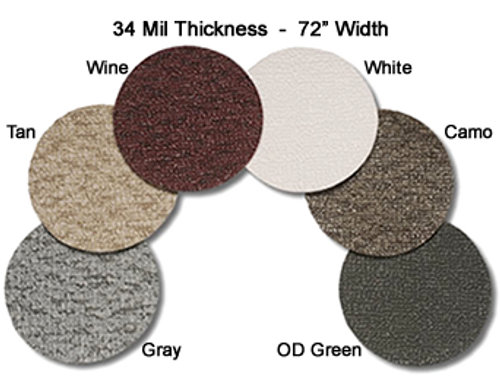 MariDeck Marine Vinyl Flooring - 6' Wide x Various Foot Lengths - 34 mil.