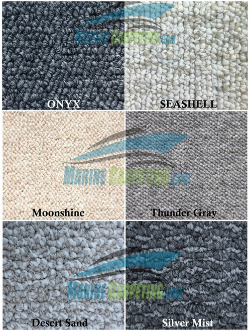 1990 Sea Ray 450 Sundancer 10-Piece Replacement Carpet Set