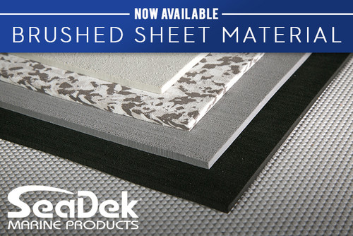 SeaDek Sheet Material - Brushed