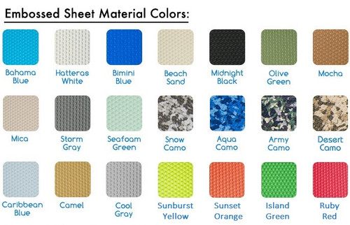 Samples of SeaDek Sheet Material