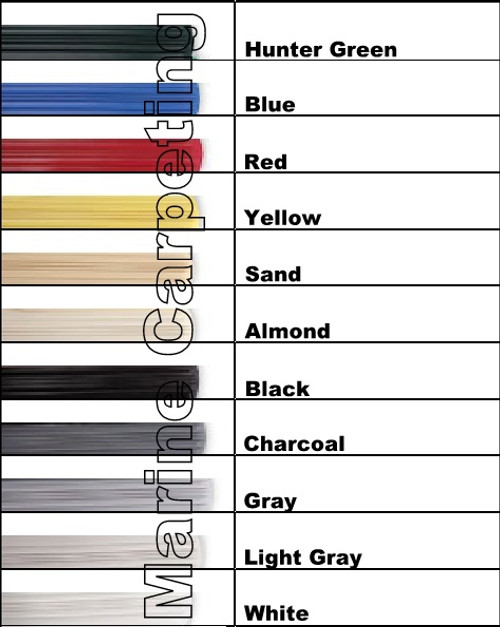 KeelGuard by Megaware Boat Hull Protector - Choose Color & Length