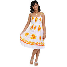 Sundress/Tube Dress Hibiscus Design