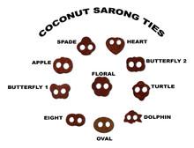 Coconut Sarong Ties