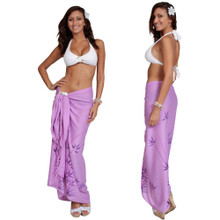 Bamboo Sarong in Purple