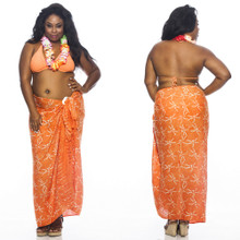 "Dragonfly Sarong ""Orange"""