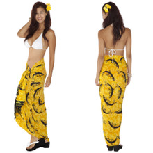 Dolphin Sarong in Yellow