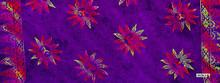 Sun Half Sarong / Mini Sarong in Purple