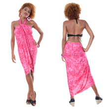 Hibiscus Flower Sarong in Pink