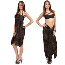 Brown Smoked Plus Size Sarong