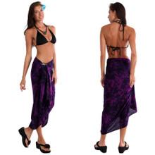Smoked Sarong in Purple