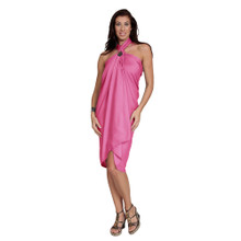 Solid Colored Sarong in Pink