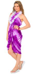 Purple Haze Tie Dye Sarong
