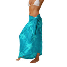 Tie Dye Sarong in Turquoise