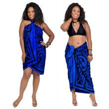 "Celtic Circles High-End Pertama Sarong, ""Cool Blue"""