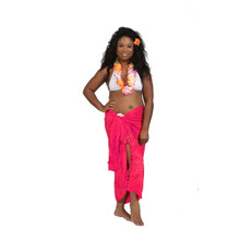 Embroidered Tie Dye High-End Pertama Sarong in Pink