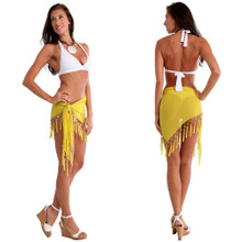 Sheer Sarong in Yellow