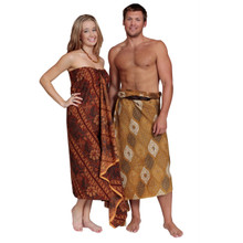 "Traditional Indonesian Batik"" Sarongs / Assorted Styles"