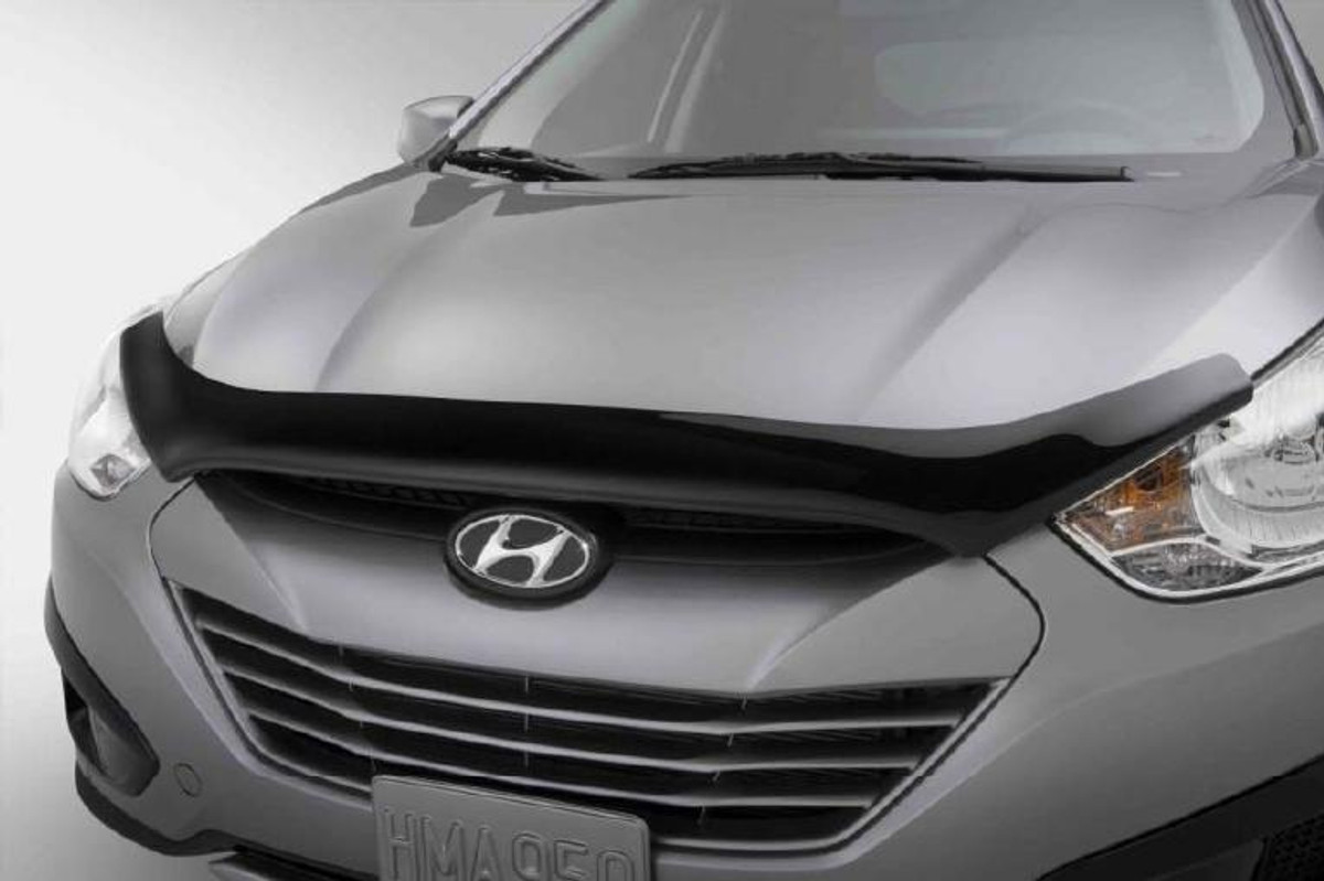 hyundai tucson bug deflector hyundai shop. Black Bedroom Furniture Sets. Home Design Ideas