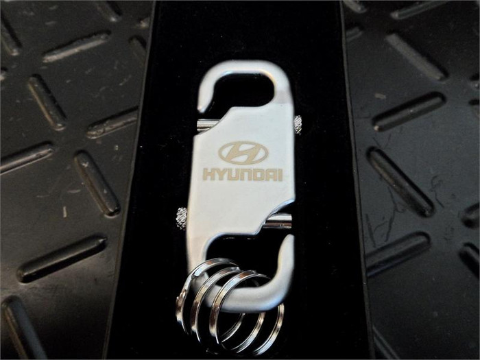 Hyundai Keychain - Satin Chrome