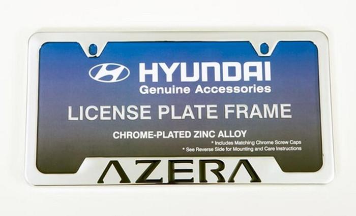 Hyundai Azera License Plate Frame (C024)