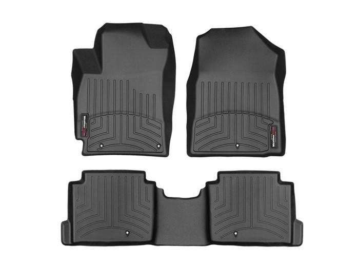 Hyundai Elantra WeatherTech FloorLiners - Black