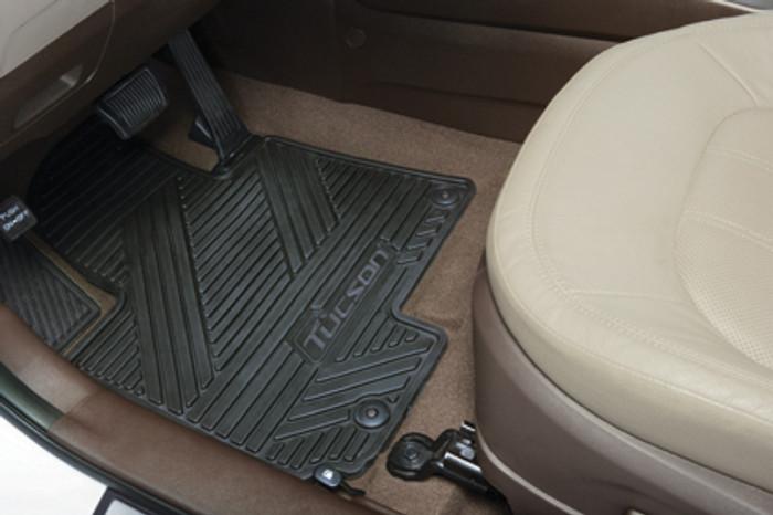 Hyundai Tucson Rubber Floor Mats (L094)