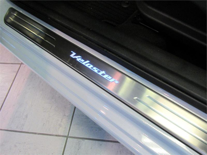 Hyundai Veloster LED Door Sill Plates (AA023)