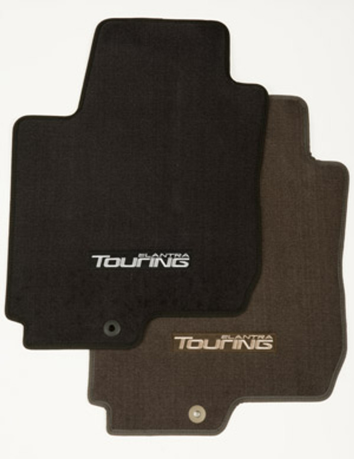 Hyundai Elantra Touring Carpeted Floor Mats (E038)