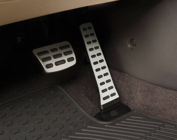 Hyundai Sonata Steel Pedal Covers (J093)