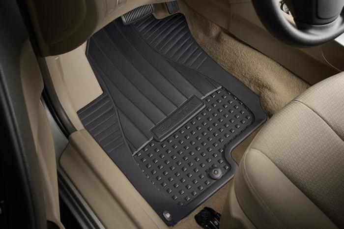 Hyundai Elantra Rubber Floor Mats (D001)