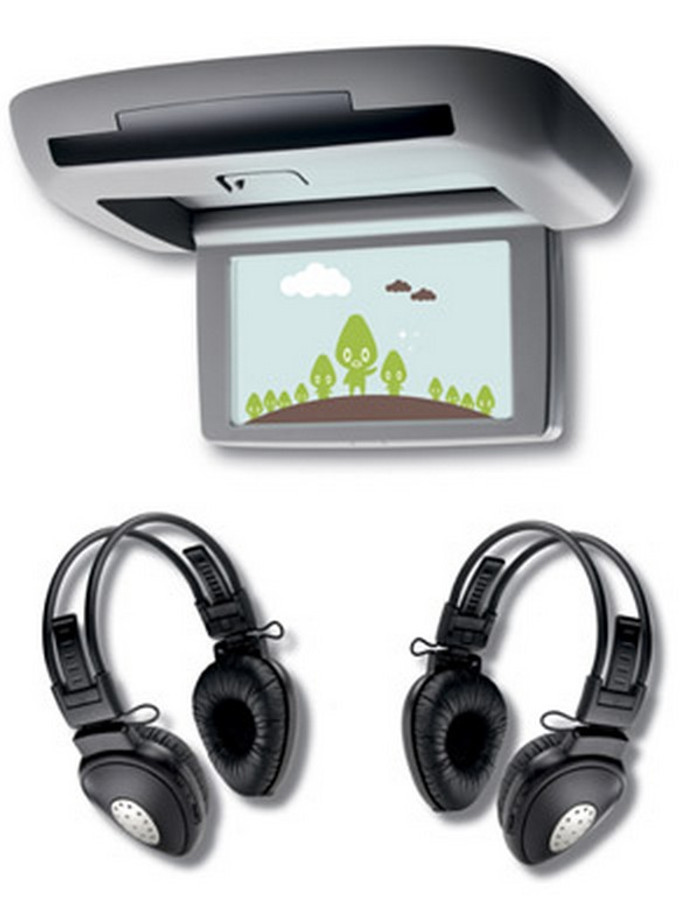 DVD Rear Headset