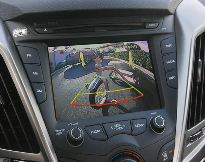 Hyundai Veloster Back-Up Camera (AA012)