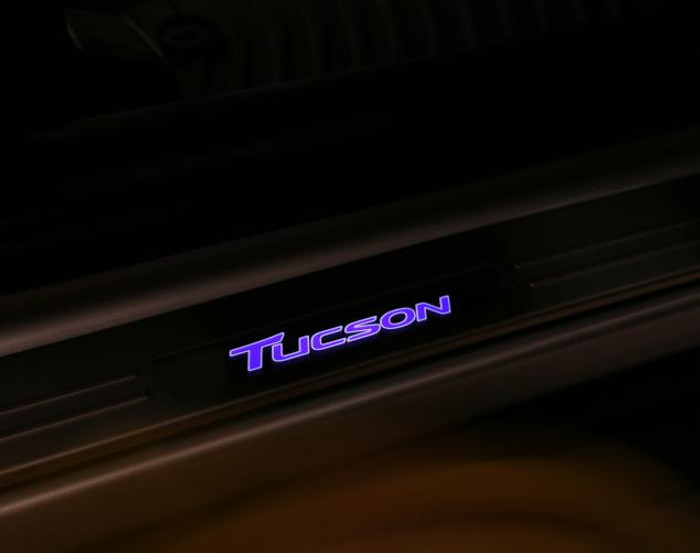 Hyundai Tucson LED Door Sill Plates (L115)