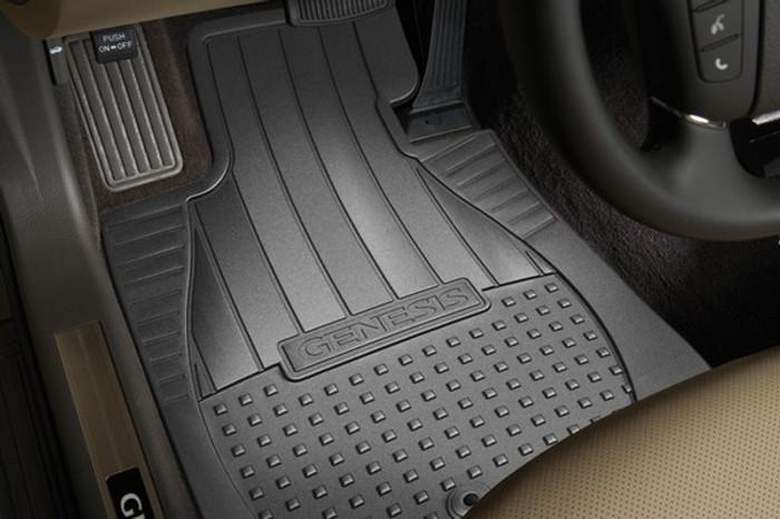 Hyundai Genesis Rubber Floor Mats (F016)